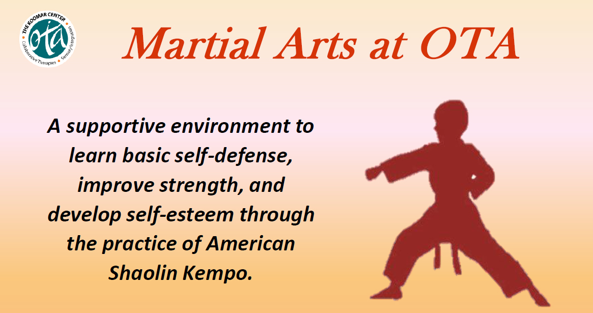 Join us for Martial Arts starting in January